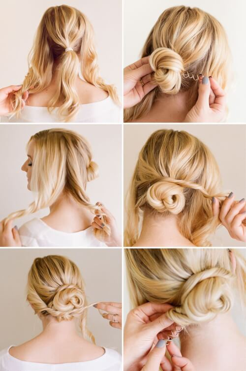 16 Cute & Easy Bun Hairstyles to Try This Year