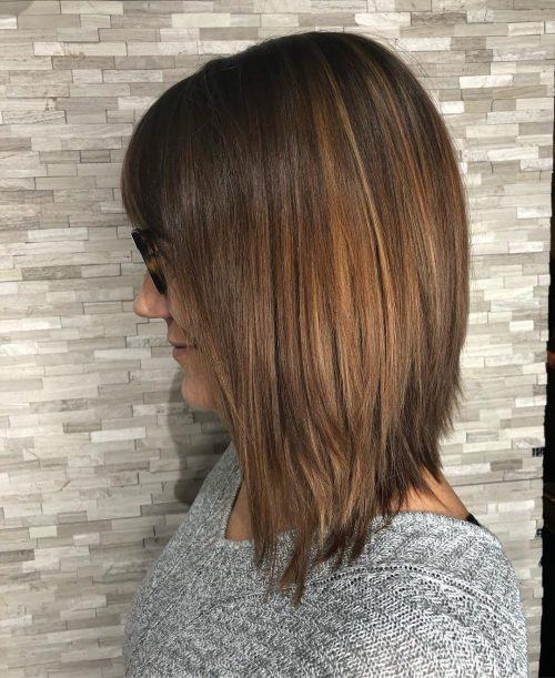 18 Trending Long Angled Bob Haircuts