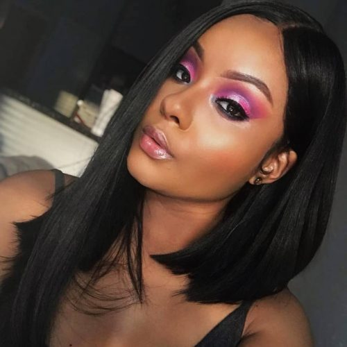 15 Incredible Middle Part Bob Hairstyles Ideas for Black Women