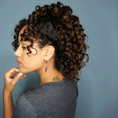 10 Most Popular Ways to Get Curly Hair with Bangs Right Now