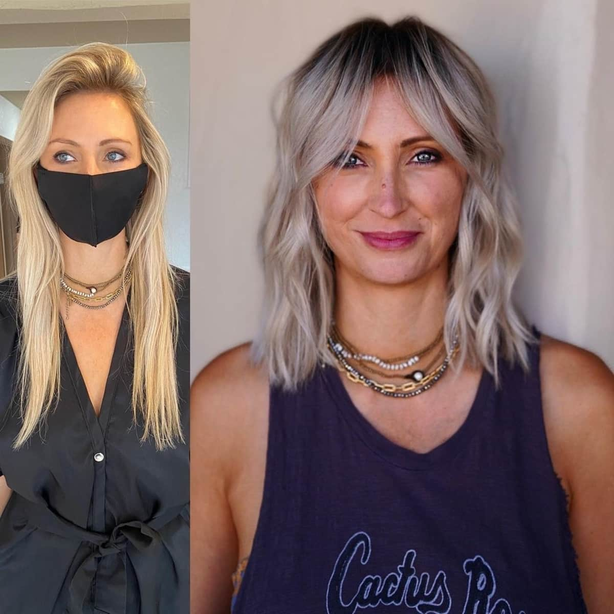 21 Trendiest Ways to Wear Long Curtain Bangs, According to Stylists