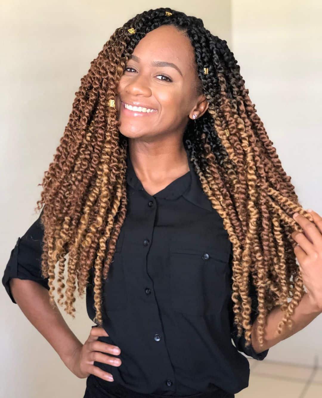 25 Hottest Twist Braid Styles Right Now