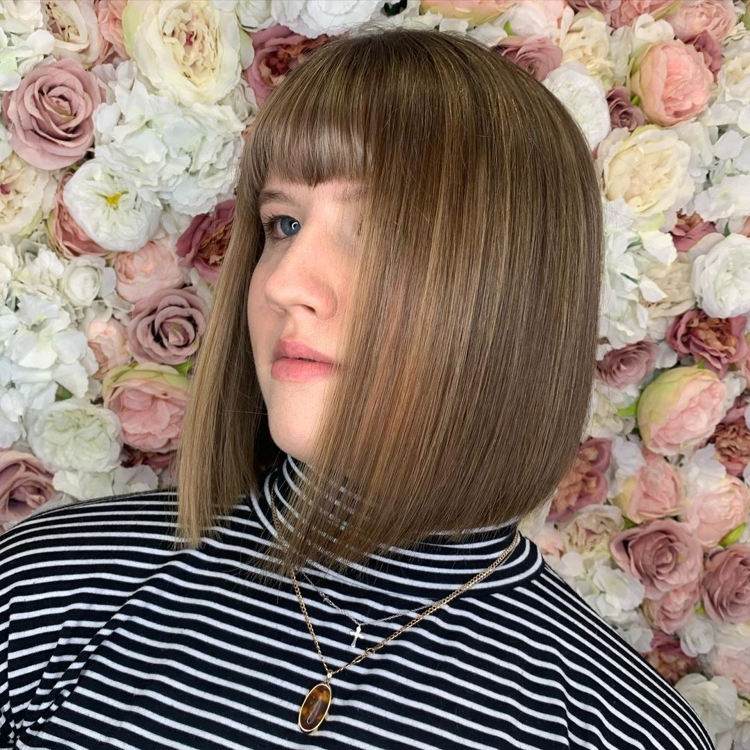 16 Trendy Blunt Bob with Bangs to Inspire Your Next Chop