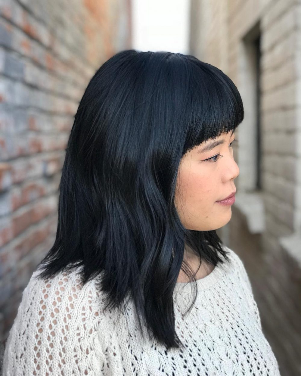 53 Medium Hairstyles With Bangs: Our Latest Faves!