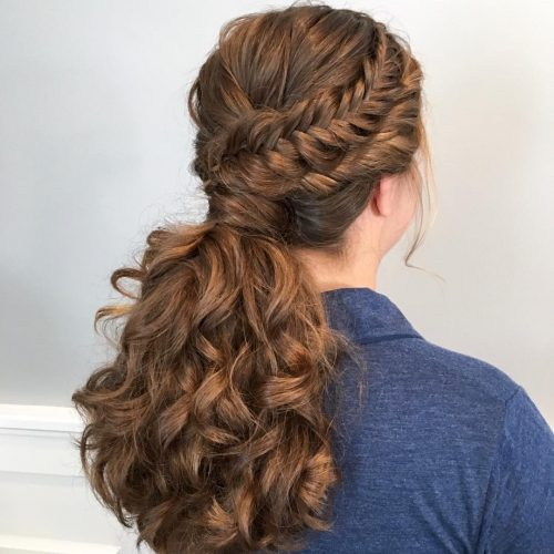 15 Cutest Examples of a Ponytail with Bangs