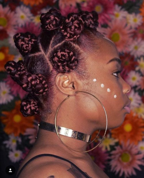 19 Amazing Ways to Wear Bantu Knots