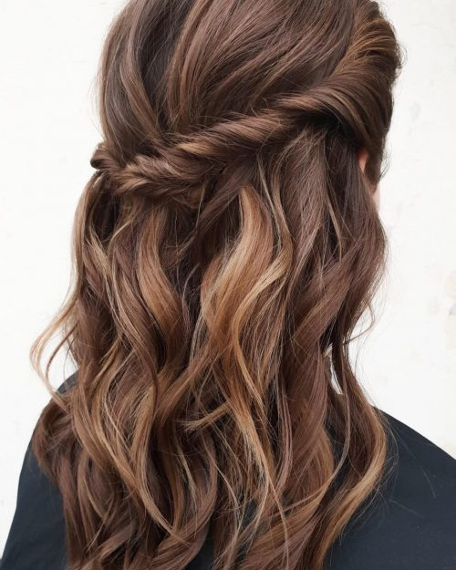 35 Hottest Chocolate Brown Hair Color Ideas