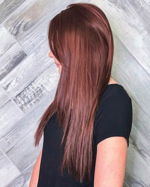 34 Gorgeous Burgundy Hair Color Shades to Show Your Colorist