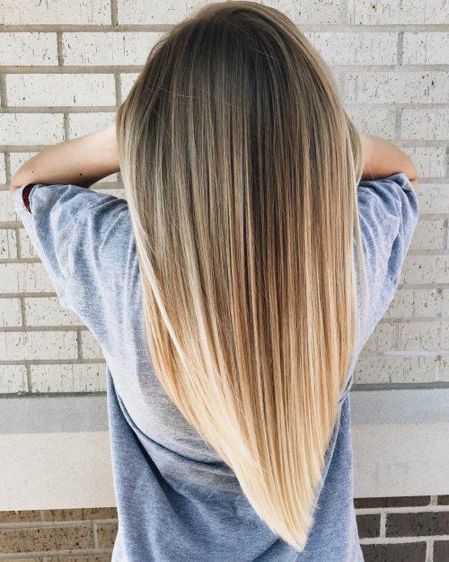17 Incredibly Gorgeous V-Cut Hair Shape Ideas