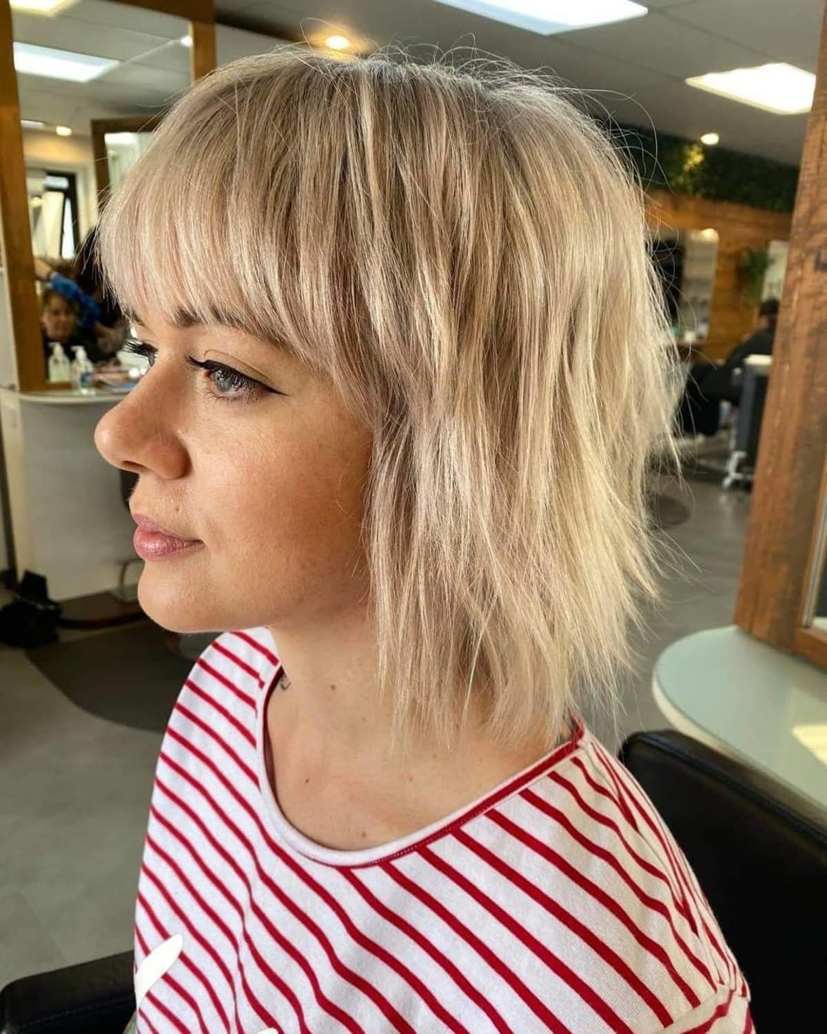20 Choppy Bob with Bangs That Are Totally Modern