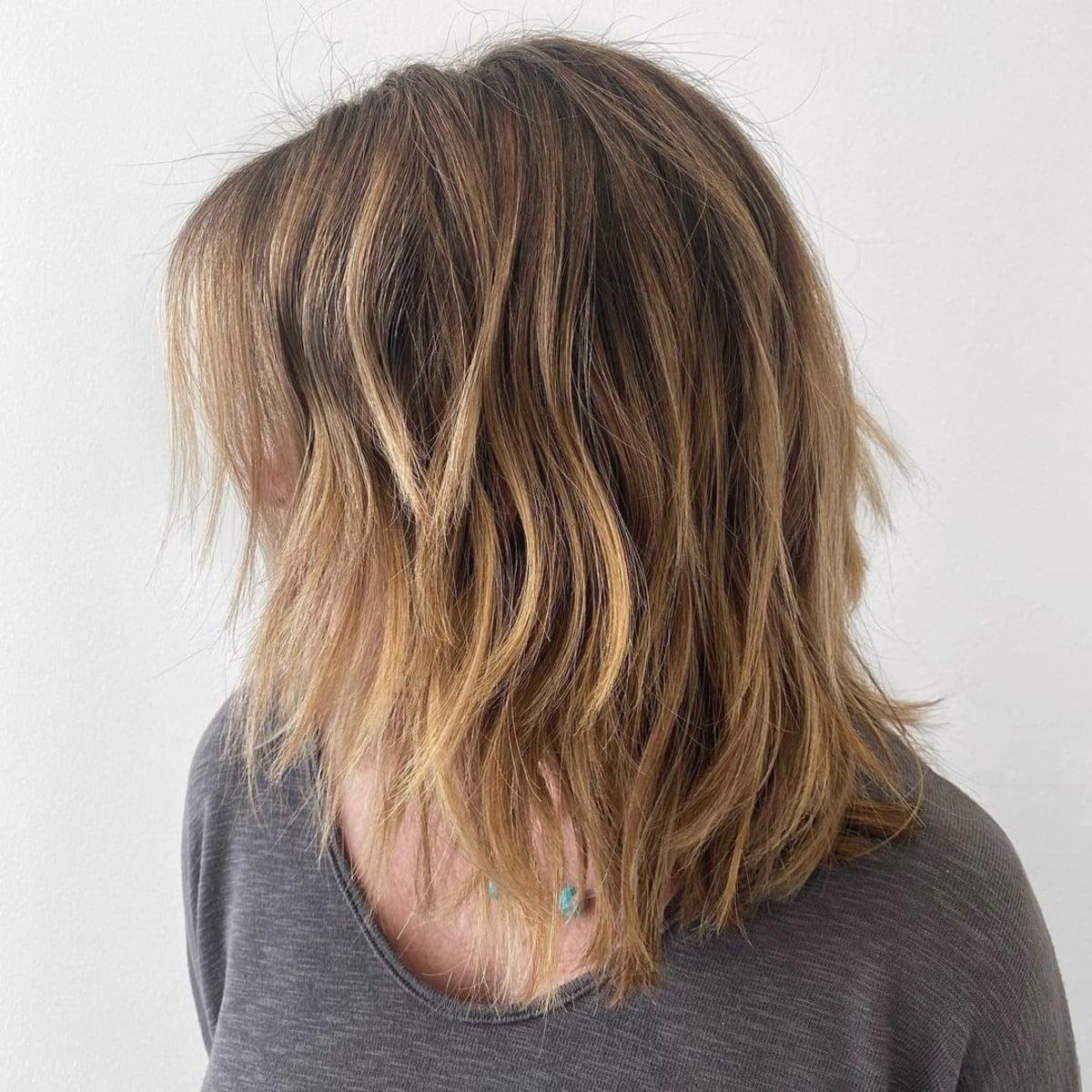 21 Coolest Long Choppy Bob Haircuts for That Beachy Lob Look