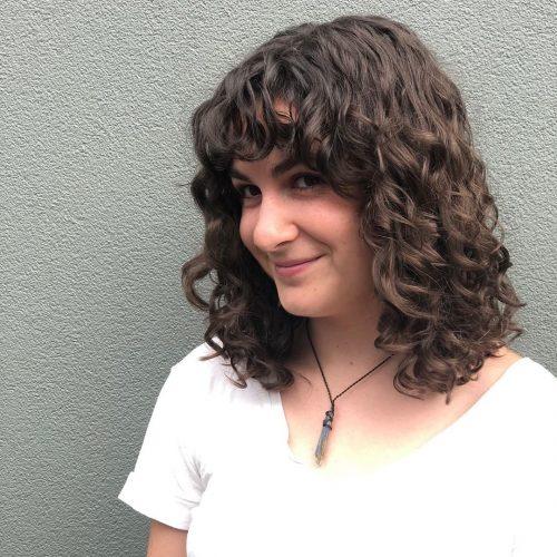 14 Long Curly Bob Haircuts – Meet The Curly Lob
