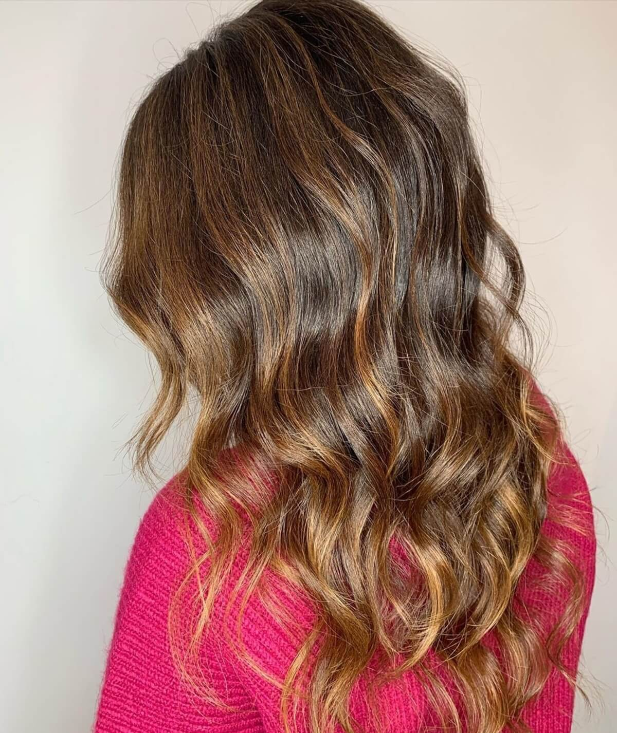 22 Trending Ways To Combine Dark Brown Hair with Caramel Highlights