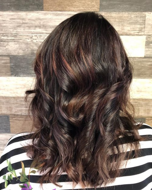 These 17 Examples of Lowlights for Brown Hair Will Totally Inspire You