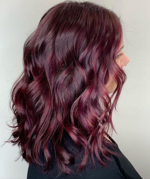 32 Best Dark Red Hair Color Ideas