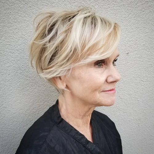 26 Best Short Haircuts for Women Over 60 to Look Younger in 2021