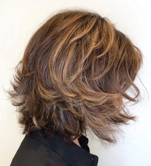 15 Youthful Medium-Length Hairstyles for Women Over 50