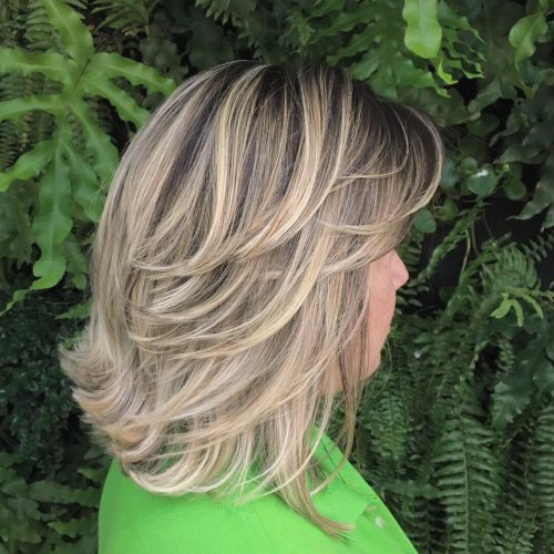 The Top 18 Feathered Hair Ideas You Have to See