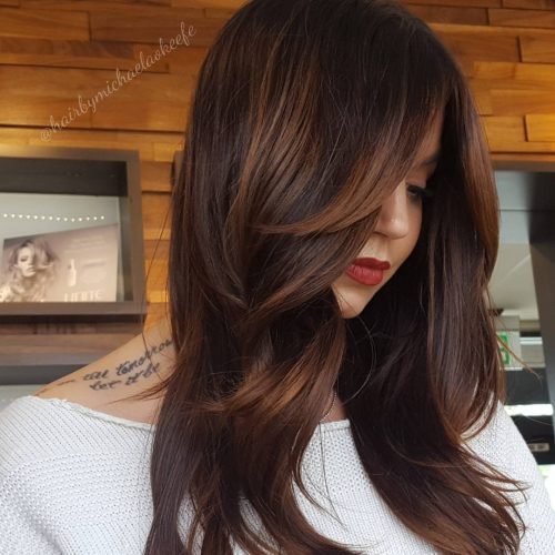 19 Flattering Hairstyles with Side Bangs for Every Face Shape & Length