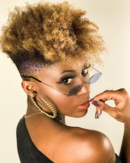 11 Pictures of a Tapered Cut for Natural Hair You Have to See
