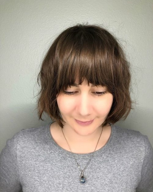 16 Short Hair with Long Bangs That Are Super Cute