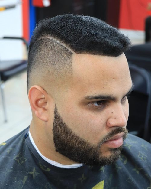 15 Lit Faux Hawk Fade Haircuts for Guys