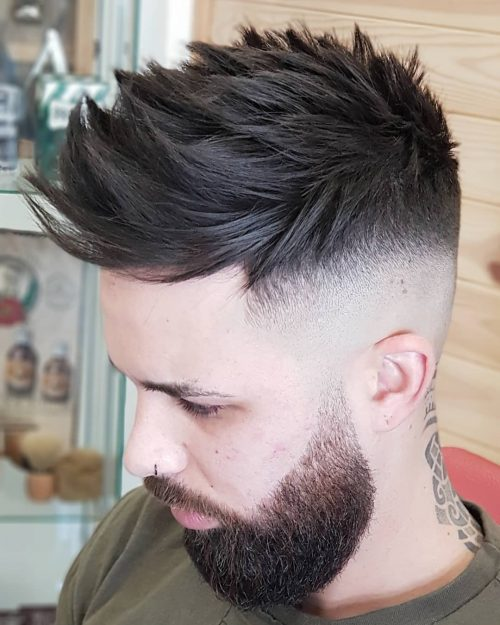 24 Coolest Examples of Drop Fade Haircuts This Year