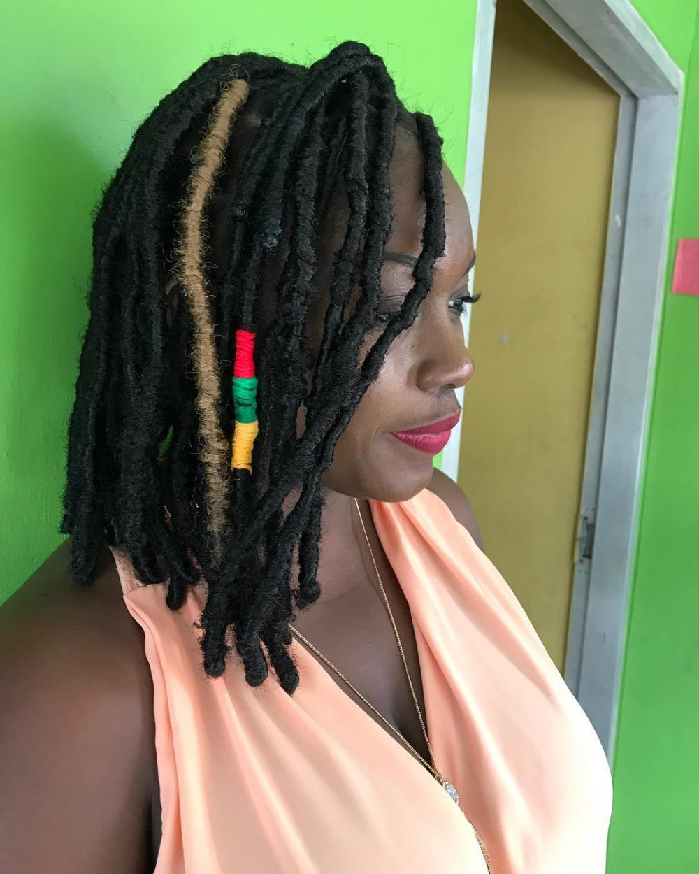 16 Trendiest Ways to Style Short Faux Locs Right Now