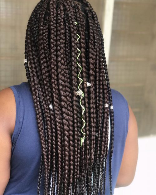 13 Best Long Box Braids for Protective Hairstyles
