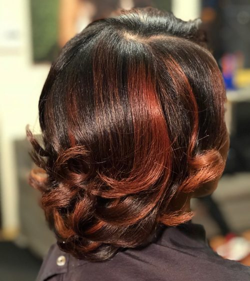 24 Hottest Short Weave Hairstyles