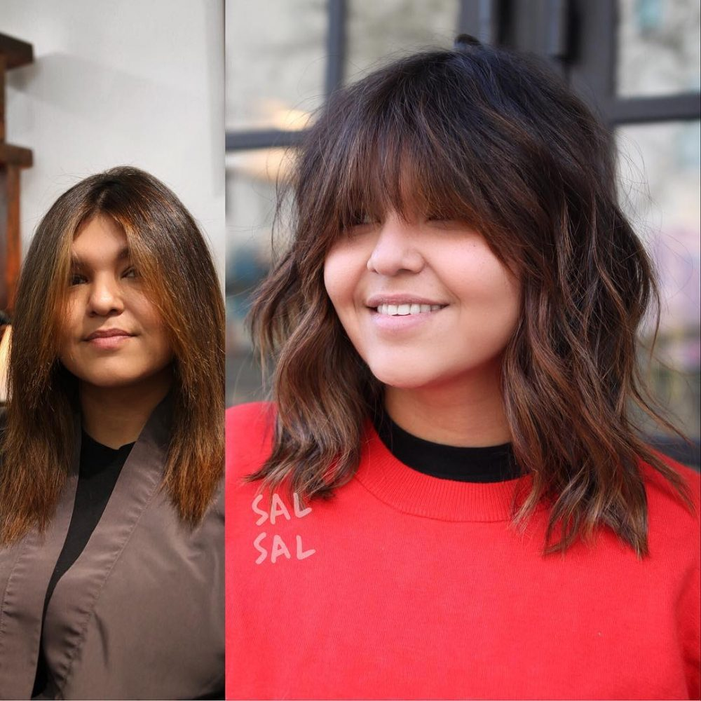 24 Most Flattering Hairstyles for Round Faces