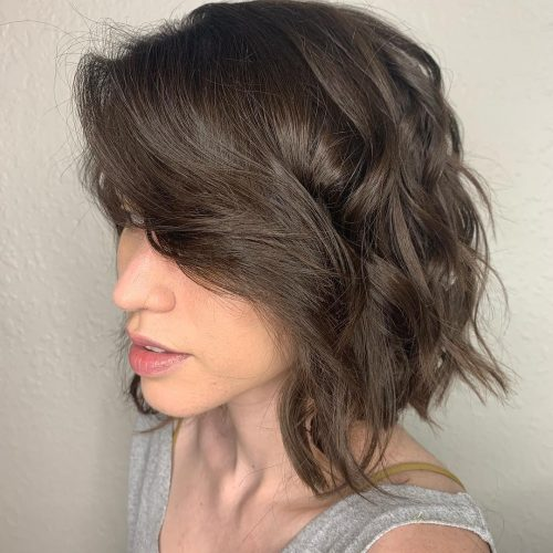 22 Trendiest Long Bob with Bangs Women Are Asking For Right Now