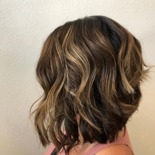 21 Hottest Long Wavy Bob Hairstyles & Haircuts You Can Totally Pull Off