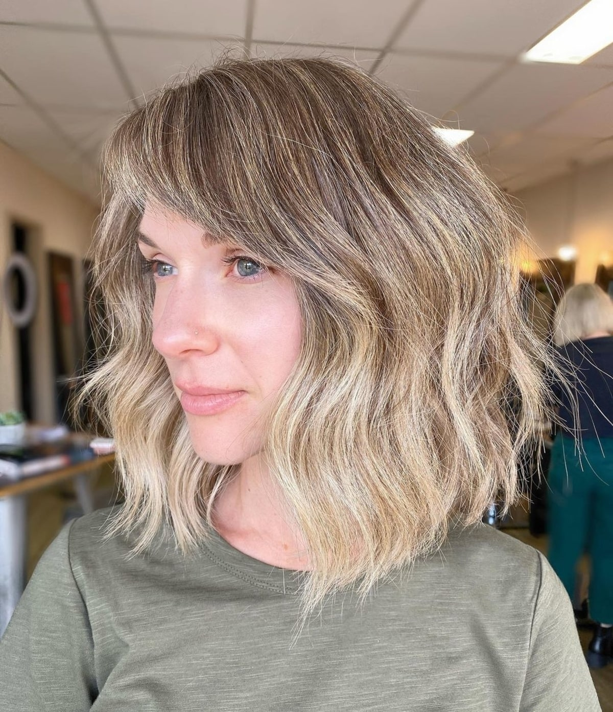 21 Side-Swept Bangs You Have to See