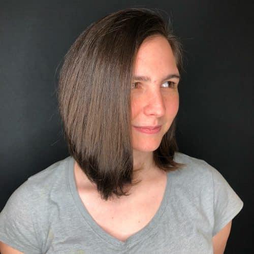 15 Sleekest Side Part Bob Haircuts
