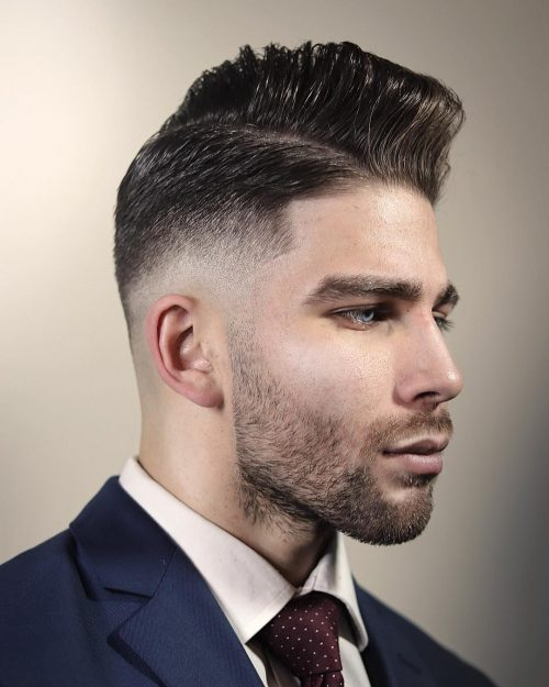 The 18 Best Examples of a Low Fade Comb Over Haircut