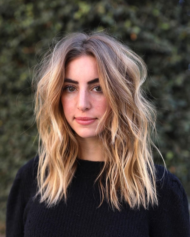 51 Chic Medium Shag Haircuts