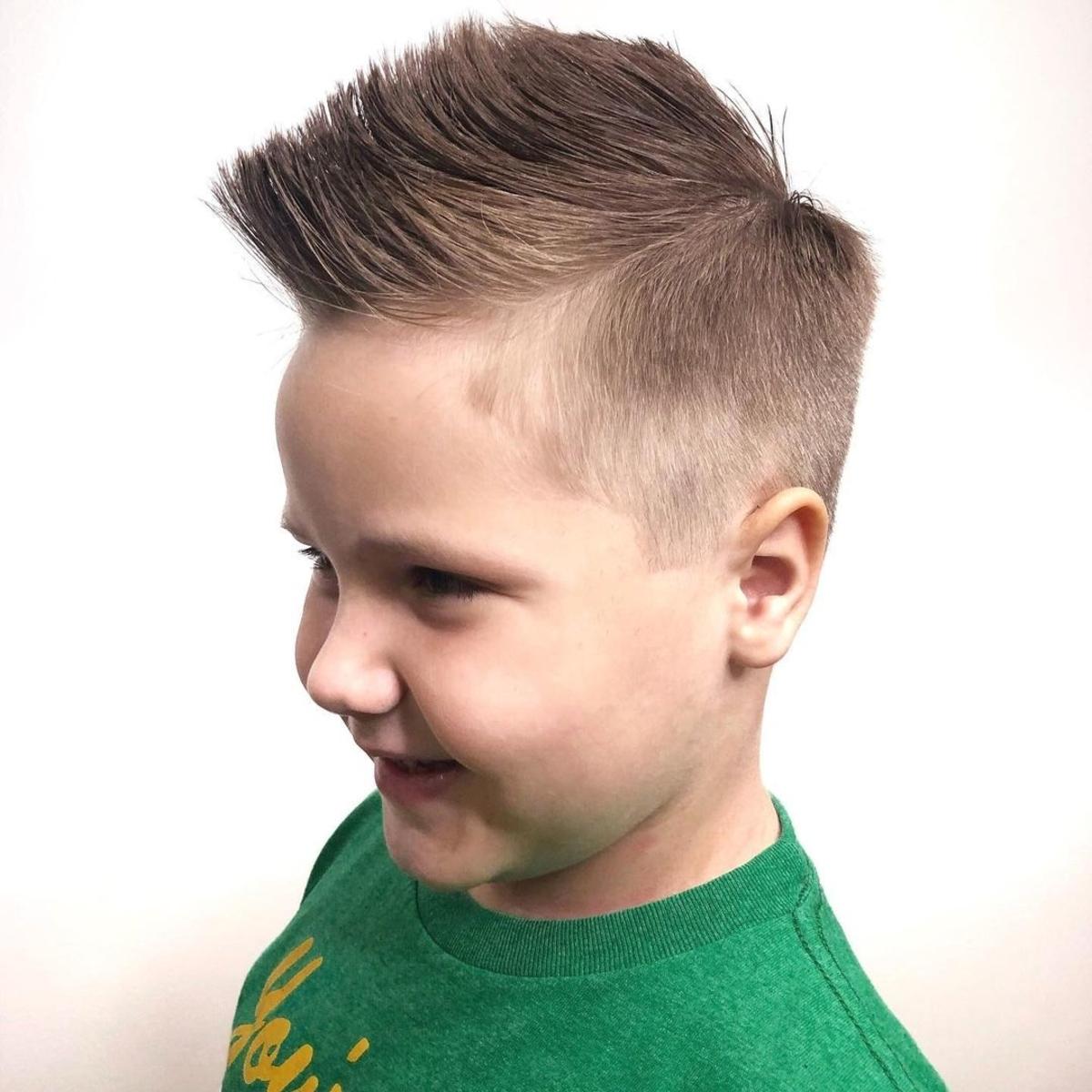 28 Cute Boys Haircuts Cool and School Ready