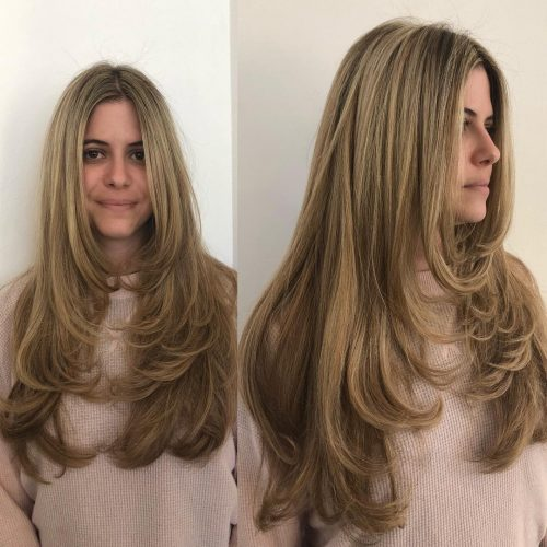 32 Cutest Long Layered Haircuts Trending Right Now