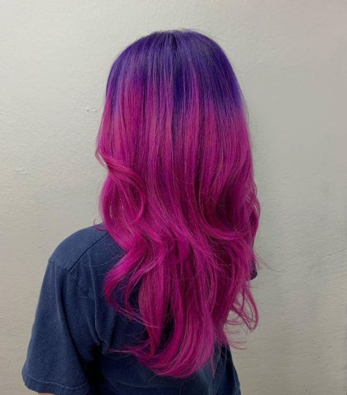 15 Pink and Purple Hair Color Ideas Trending Right Now