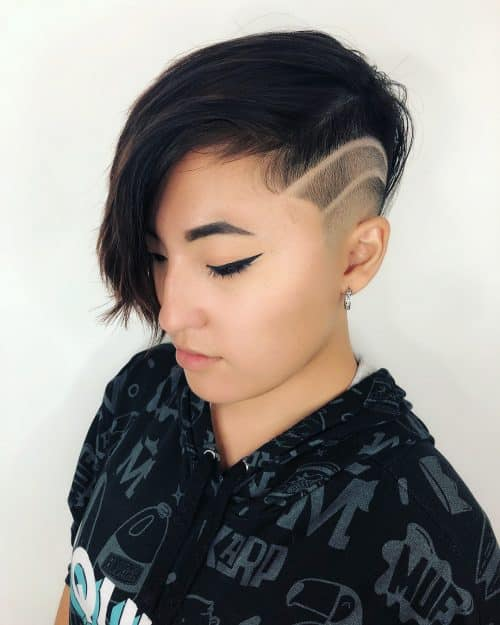 22 Coolest Undercut Hairstyles for Women Right Now