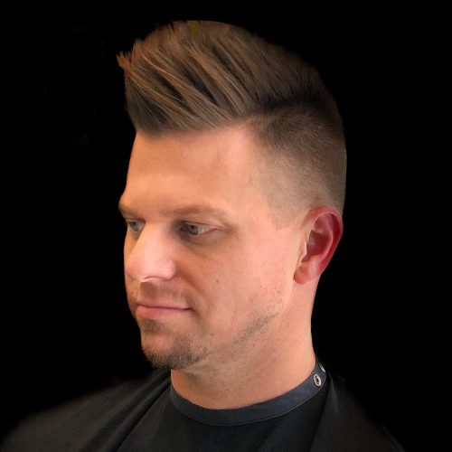 13 Cleanest High Taper Fade Haircuts for Men