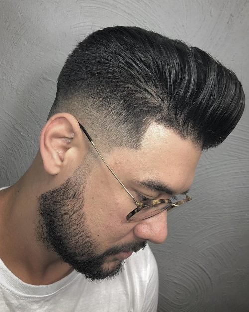 The 15 Best Examples of Pompadour Fade Haircuts