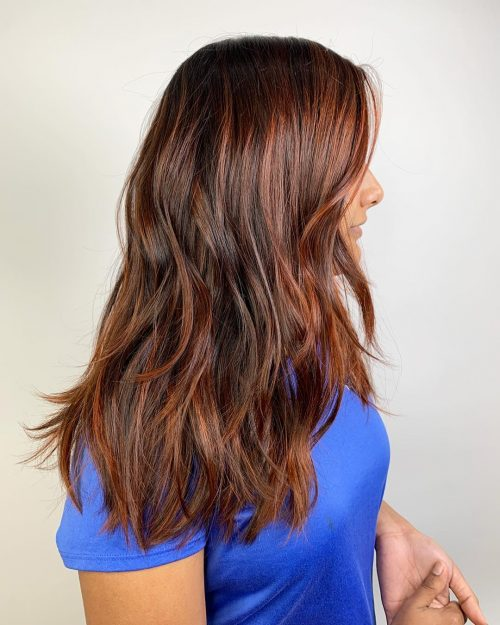 13 Gorgeous Examples of Dark Brown Balayage Hair Colors