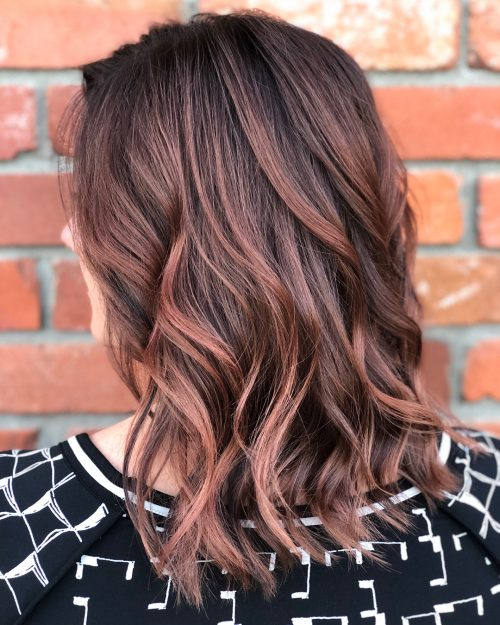 35 Fabulous Ideas for Dark Brown Hair With Highlights