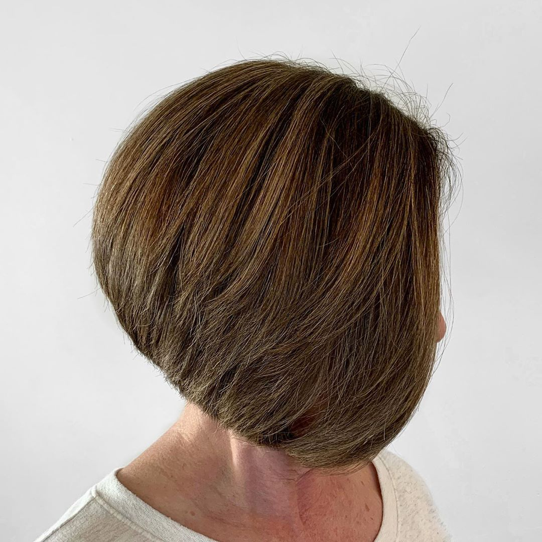 15 Flattering Bob Haircuts for Women Over 50