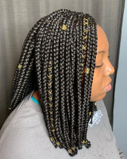 16 Lit Short Box Braids You Have to See