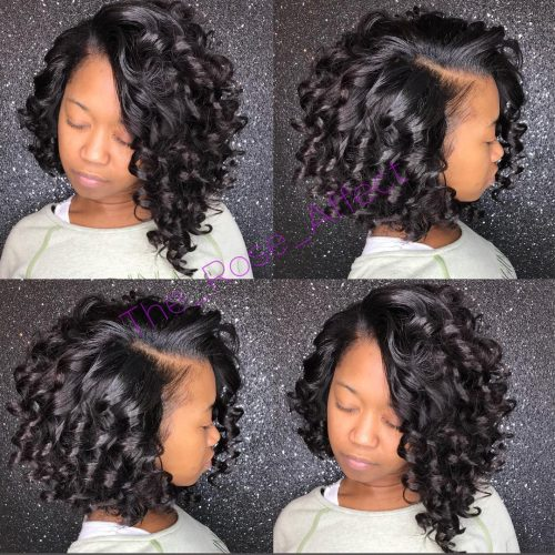 12 Cutest Short Curly Bobs for Curly Hair Girls