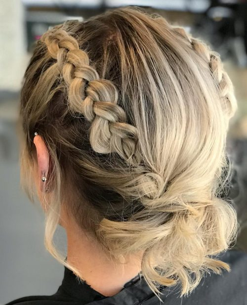 18 Gorgeous Prom Hairstyles for Short Hair
