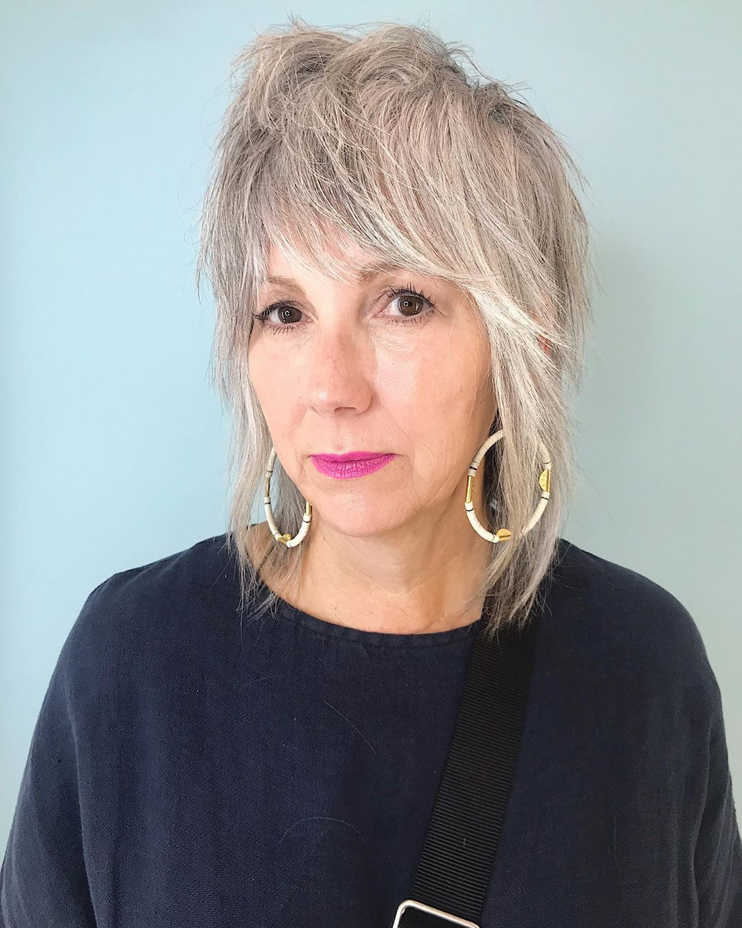 15 Modern Shaggy Hairstyles for Women with Fine Hair Over 50